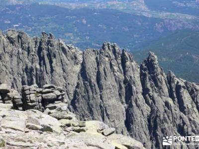 La Mira - Los Galayos (Gredos);parque natural hayedo de tejera excursiones por la sierra de madrid